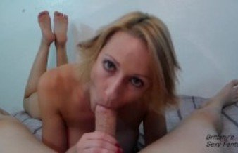 Slow Blowjob and Handjob With Dirty Talk Lead to Cum in Mouth Then Swallow