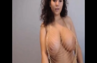 Busty Persian Showing Off Her Beauty Part 1 - Part 2 At