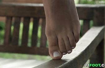 Sexy foot fetish porn makes you hard