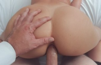 Daddy cums deep inside Pawg Teens tight Wet Asshole POV ANAL CREAMPIE