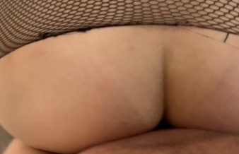 HE TORE HER PANTYHOSE AND FUCKED HER HARD, CUM ON HER FEET