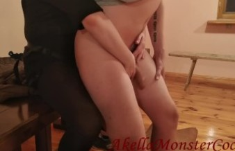 Femdom Strapon Compilation - Pregnant wife Pegging